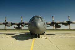 Poolse c-130 Hercules Stock Afbeeldingen