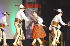Poolse Dansers Stock Afbeeldingen
