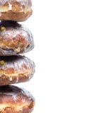 Poolse donuts Royalty-vrije Stock Afbeeldingen