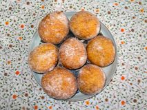 Poolse Doughnuts - czki van Polskie PÄ… stock foto