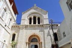 Poolse Katholieke Kapel, Jeruzalem. Royalty-vrije Stock Afbeeldingen