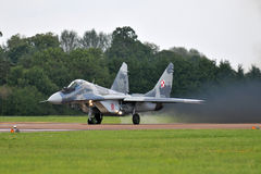 Poolse Luchtmacht mig-29 Royalty-vrije Stock Fotografie
