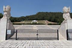 Poolse militaire begraafplaats van Montecassino royalty-vrije stock fotografie