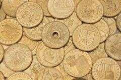 Poolse munt Royalty-vrije Stock Foto's