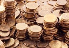 Poolse muntstukken Stock Afbeeldingen
