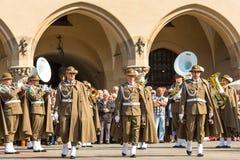 Poolse nationaal en officiële feestdag de 3 de Grondwetsdag van Mei Stock Afbeelding