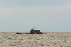 Poolse onderzeese ORP Bielik Royalty-vrije Stock Foto's