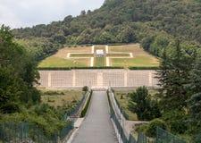 Poolse Oorlogsbegraafplaats in Monte Cassino Stock Afbeelding