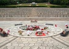 Poolse Oorlogsbegraafplaats in Monte Cassino Stock Foto's
