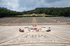 Poolse Oorlogsbegraafplaats in Monte Cassino Royalty-vrije Stock Foto's