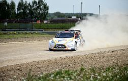 Poolse Safari Rally Cross Championship Royalty-vrije Stock Foto