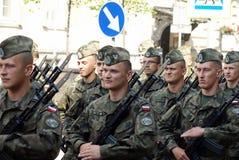 Poolse Strijdkrachtendag Royalty-vrije Stock Afbeeldingen