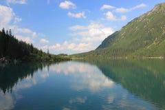 Poolse Tatras - Overzees Oog Stock Foto's