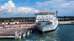 Poolse veerboot Wawel Royalty-vrije Stock Foto