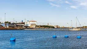 """Poolse veerboot """"Wawel† Stock Foto's"""