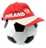 Poolse voetbalsamenstelling Royalty-vrije Stock Afbeeldingen