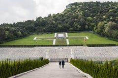 Poolse WO.II-Begraafplaats Royalty-vrije Stock Foto