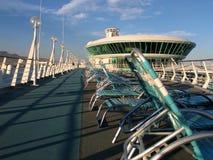 poolside γεφυρών Στοκ φωτογραφία με δικαίωμα ελεύθερης χρήσης