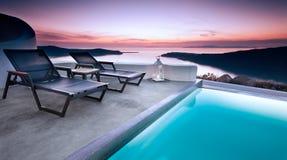 poolside Στοκ Εικόνες
