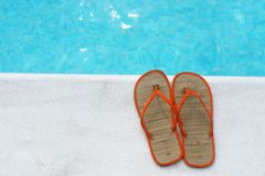 Poolside Photographie stock