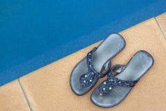 poolside Стоковые Фотографии RF