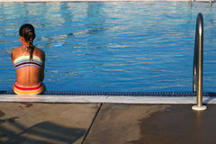 Poolside foto de stock royalty free