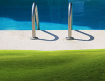 Poolside Royalty Free Stock Photos