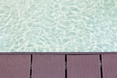 poolside Fotografia de Stock Royalty Free