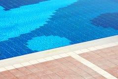 poolside Royaltyfri Fotografi