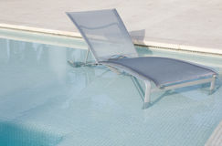 Poolside Chair Stock Photography