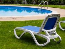 Poolside Lounger Zdjęcie Stock