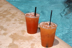 Poolside Mai-Tai Royalty Free Stock Image