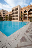 Poolside, Rode Overzees, Egypte Stock Fotografie