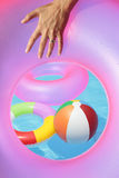 Poolside-Sommer Toyd stockfotos