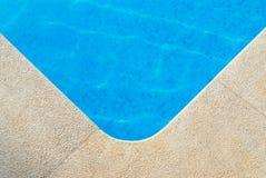 Poolside widok Obrazy Royalty Free