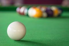 Poolspelen royalty-vrije stock foto