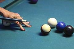 Poolspiel. Stockbilder