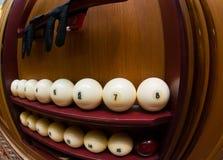 Poolspiel Lizenzfreie Stockfotos