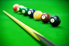 Poolspiel Lizenzfreie Stockfotografie