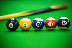 Poolspiel Stockfoto