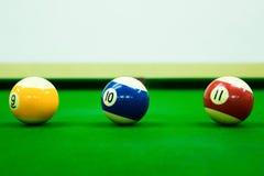 Poolspiel Stockbilder