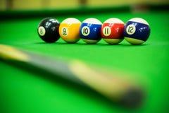 Poolspiel Lizenzfreies Stockfoto