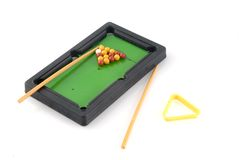 Pooltable Image libre de droits