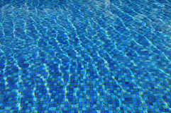 Poolwasser Stockfoto