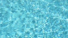 Poolwaterspiegel stock footage