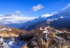Poon hill,Nepal Royalty Free Stock Images
