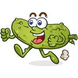 Poop Monster Cartoon Character with a Grotesque Melting Face vector illustration