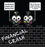 Poor Bankers Stock Photo