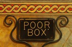 Poor Box Stock Image