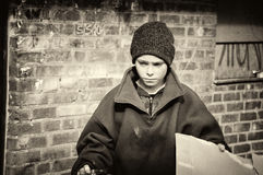 Free Poor Boy Stock Photography - 51133012